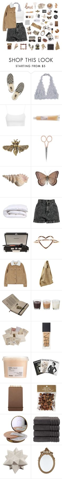 """"""" FLUTTER ON AUTUMN BABY """" by j-essx-f ❤ liked on Polyvore featuring Vans, Topshop, Davines, Alkemie, Anastasia Beverly Hills, Boohoo, Crosley, Alexander Wang, Haeckels and NARS Cosmetics"""