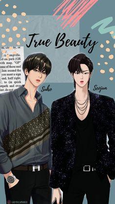 Handsome Korean Actors, Handsome Anime Guys, Suho, Manhwa, Anime Korea, Pinturas Disney, Jimin Fanart, Cute Love Images, Korean Drama Movies