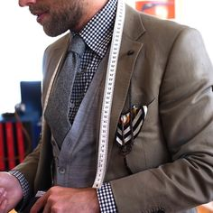 "Dangling pocket square - reminds me of how Siegfried Farnon wore his in ""All Creature Great and Small""."