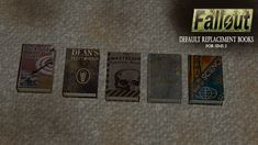 I have created default replacement books for the Sims 2 using the textures from Fallout You're more than welcome to convert them to any of the other games and beat me to it. THESE ARE A DEFAULT. Alien Invasion, Fallout 3, Sims 2, Post Apocalyptic, Science Fiction, Sci Fi, Survival, Texture, Books
