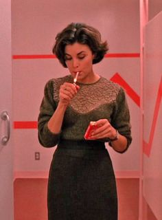 Audrey Horne, one of the most stylish fictional characters