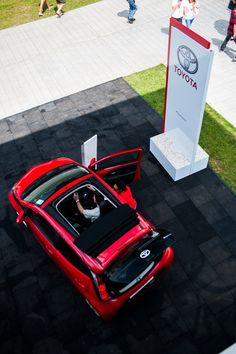 Toyota Aygo x-wave at Goodwood Festival of Speed 2015
