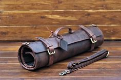 Leather Knife Roll Chef Knife Case Chef Knife Roll Chef Bag Chefwear Gift for Him Kitchen Accessories leather tool roll Leather Roll, Leather Tooling, Chef Knife Case, Used Cnc Machines, Tool Roll, Tool Pouch, Case Knives, Brass Buckle, Bag Storage
