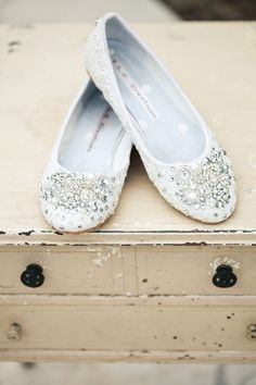 Definitely an option. Because I just can't wear the heels all day. Can't do it. #weddingshoes