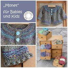 """""""Monet"""" für Babies und Kids aus Rowan purelife revive. www.diemercerie.com"""