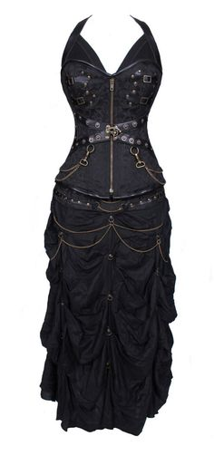 Steampunk - Sweet heart Overbust pattern perfect for long ,medium & short torso female Front length is 14 inches cm) Bust to bottomlength is Style Steampunk, Victorian Steampunk, Steampunk Clothing, Steampunk Fashion, Gothic Corset, Steampunk Corset, Gothic Clothing, Steampunk Necklace, Gothic Jewelry