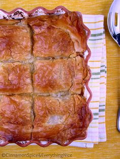 Phyllo Chicken Pie..  http://whenthedinnerbellrings.blogspot.com  or http://www.facebook.com/groups/whenthedinnerbellrings