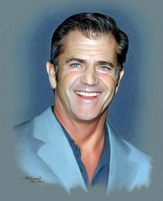 Mel Gibson  Painted by Ebn Misr  www.facebook.com/Ebn.Misr.gallery