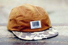 The Worlds Original Face  TWO Face London3rd Edition 5 panel cap, hatCoded Collection box logoAntique gold wax cotton,camo skull cotton,nylon strapSupreme condition, only the best quality