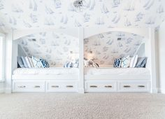 <3 Sleeping Nooks - via House of Turquoise: Strickland Homes