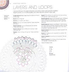 мобильный liveinternet mandalas to crochet Crochet Circles, Crochet Mandala, Crochet Round, Mandala Pattern, Crochet Motif, Crochet Doilies, Crochet Flowers, Knit Crochet, Crochet Patterns