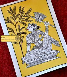 Shinjini`s Art – Indian Folk Art (Madhubani, Kalamkari, Gond)