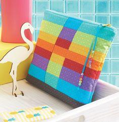 Home - Quilt en zo Bath Mat, Pouch, Rainbow, Quilts, Rugs, Home Decor, Accessories, Rain Bow, Farmhouse Rugs