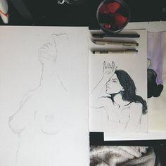 #art #artwork #artist #artistsoninstagram #illustration #sketch #drawing #inkdrawing #micronpigma #watercolour #studio