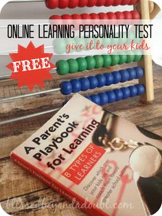 I was fascinated to find out my children's learning type with this FREE test!