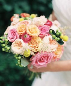 Wedding bouquet idea; Featured Photographer: Carretto Studio