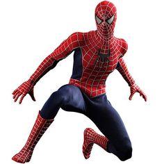 Spider-Man 3 Movie Masterpiece Action Figure 1/6 Spider-Man 30 cm