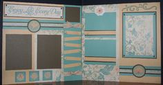Good Morning Everyone,   I have been having fun creating with the newest scrapbooking papers released by CTMH in the Spring 2010 Idea...