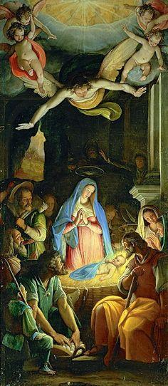 S San Juan de Avila  Federico Zuccari, The Adoration of the Shepherds, 16th century