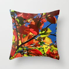 Fall+Symphony+Throw+Pillow+by+Stacy+Frett+-+$20.00