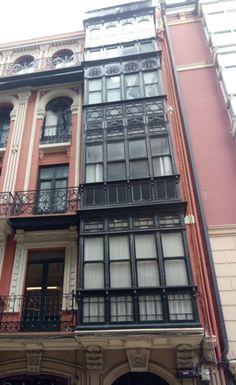 Miradores de Bilbao, calle Ledesma