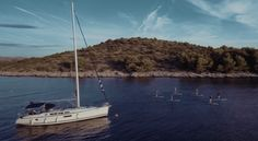 SUP and Sail Safari in Kornati, Croatia