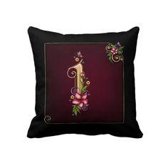 Monogram I Pillow