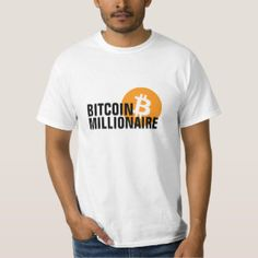 Bitcoin millionaire T-shirt, Men's, Size: Adult M, White - bitcoinfunny Funny Typos, Im An Engineer, Math Shirts, Fitness Models, About Me Blog, Mens Tops, T Shirt, Gender, Spelling