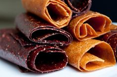 fruit leather. .  . something yummy from my childhood