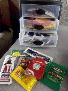 Very detailed packing list for new RV that you can customize. Neat site referenced for small items.