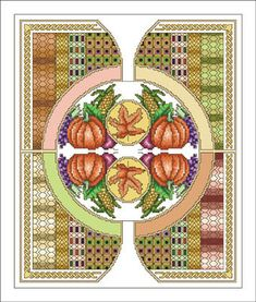 Vickery Collection Celtic November - Cross Stitch Pattern. Model stitched on 16 Ct. White Aida with DMC floss. Stitch Count: 120x192.