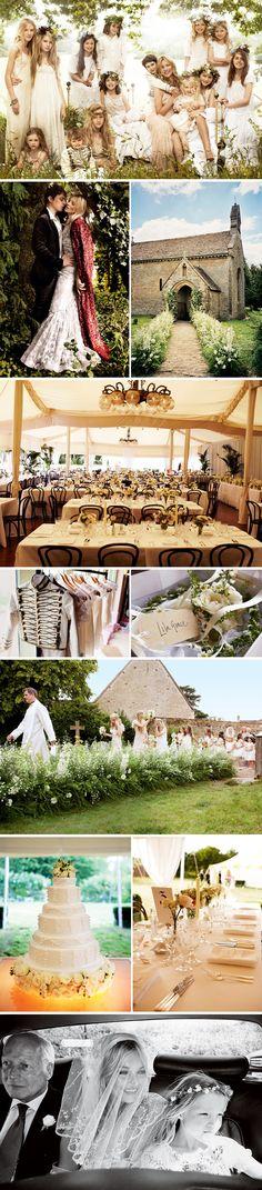 Phi-Style: Kate Moss Wedding Redux | Brooklyn Bride - Modern Wedding Blog