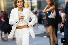 J'ai Perdu Ma Veste / Hailey Baldwin – New York  // #Fashion, #FashionBlog, #FashionBlogger, #Ootd, #OutfitOfTheDay, #StreetStyle, #Style