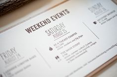 Paper Hounds: Lindsay & Evan's Ethereal Camp Invitations