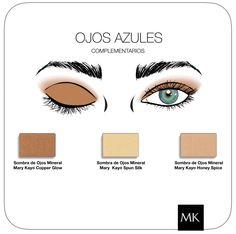 Makeup Ojos azules #MaryKay   www.marykay.es/mariaroda