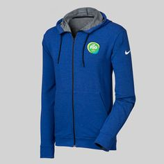 new products 7592a ad68b Keep warm with this NikeRio 2016 zip-up hoodie.