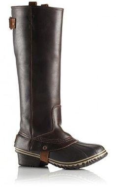 Sorel Slimpack Riding Tall Boot Nutmeg Leather Boot (Women)