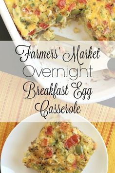 Loaded with bountiful veggies, this hearty egg bake will keep you full without…