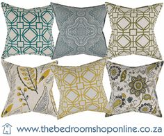 Scatter cushions in a wide range of fabrics with luxurious textures & modern prints from fabric houses like Mavromac, St Leger & Viney and Hertex Fabrics. Scatter Cushions, Throw Pillows, Knysna, Bespoke Furniture, Bedroom Inspiration, Hygge, Cosy, Stuff To Buy, Shopping
