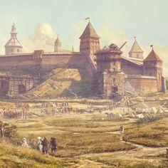 ArtStation - The day before Kleckas battle (Detail), Vilius Petrauskas