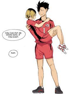 Kuroo X Kenma, Haikyuu Karasuno, Kagehina, Haikyuu Meme, Haikyuu Manga, Haikyuu Fanart, Yaoi Hard, Volleyball Anime, Tsukiyama