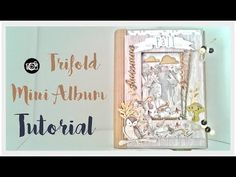 Tutorial mini album TRIFOLD  colaboración con CREAVEA - YouTube Album, Canvas, Valencia, Youtube, Scrapbooking, Crafts, Videos, Mini Albums, Manualidades