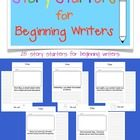 This file contains 25 simple story starters for beginning writers. The starters include a setting and a character to help your little writers g...