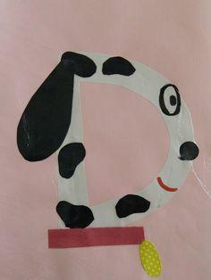 the vintage umbrella: Preschool Alphabet project. Preschool Art Activities, Preschool Letters, Preschool At Home, Alphabet Activities, Preschool Learning, Class Activities, Kindergarten Worksheets, Fun Learning, Alphabet Crafts