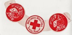 United States Red Cross Roll Call Milk Bottle Advertising Collar.
