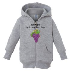I am totally buying this sweatshirt for my kids! My #wine humor pin/tweet of the night!