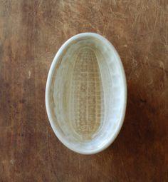 Antique Ironstone Pudding Mold