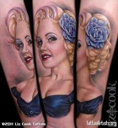 Pinup-Portrait-Tattoo-Liz-Cook