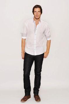 Camisa Bernard – Art. 31055717  Slim Fit Luxury 702 – Art. 32470215  Nautico Harry – Art. 30901617