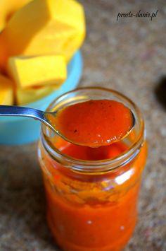 domowy ketchup z dyni Hot Sauce Bottles, Preserves, Honey, Food, Preserve, Essen, Preserving Food, Meals, Butter